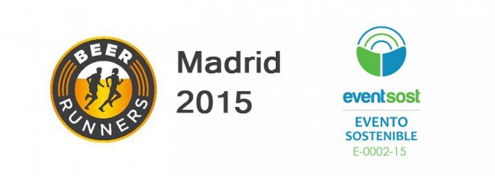Beers Runners Madrid 2015 obtiene el certificado de Evento Sostenible Eventsost