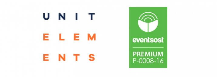 Unit Elements consigue la certificación PREMIUM de Eventsost